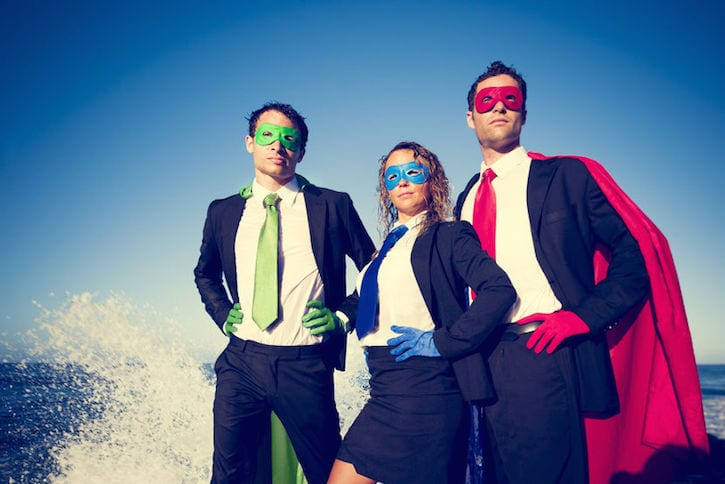 superhero associates